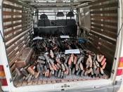 Comando Distrital da PSP de Portalegre entrega 464 armas para destruição (c/fotos)