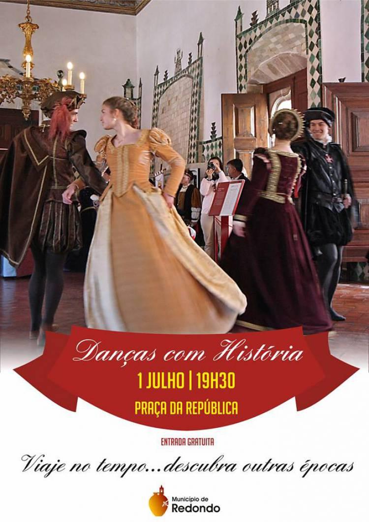 """Redondo receberá """"Danças com História"""""""