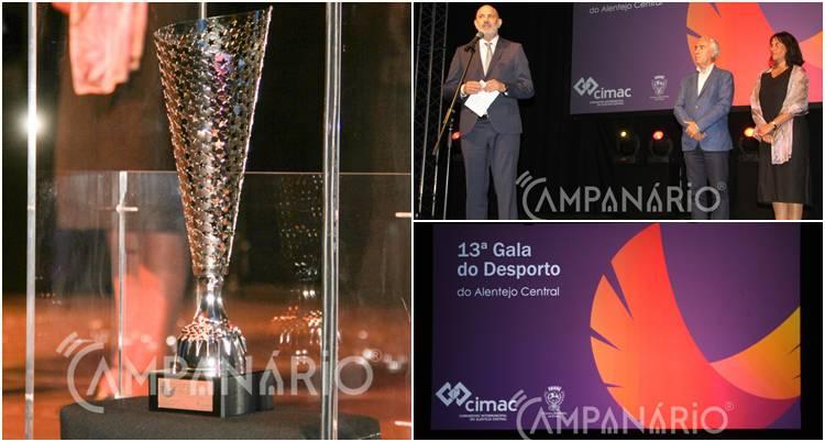 'Campeões' do distrito de Évora distinguidos e premiados na 13ª Gala do Desporto da CIMAC. A RC mostra-lhe a fotorreportagem