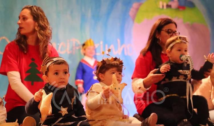 Crianças da Creche, Jardim de Infância e CATL da Misericórida de Borba brilharam na sua festa de Natal (c/fotos)