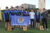 Iniciados do Clube Elvense de Natação sagram-se campeões distritais de corta-mato