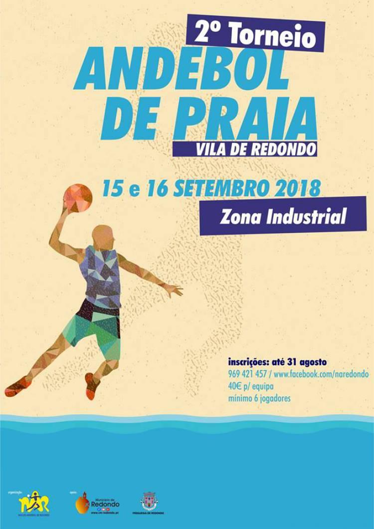 Redondo recebe 2º Torneio de Andebol de Praia este fim de semana