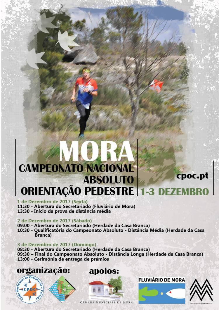 Mora receberá XXVII Troféu de Orientação do Clube Português de Orientação e Corrida