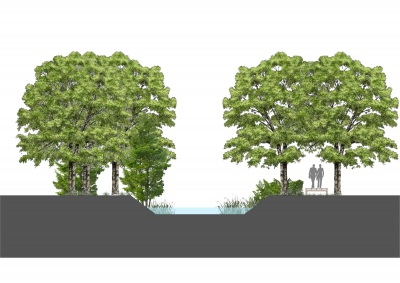 CM de Arraiolos e a Junta de Freguesia de São Pedro da Gafanhoeira plantam 1200 árvores na Ribeira de Vide