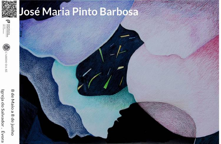 Exposição '31 obras sobre papel e 1 poema desenhado' inaugura esta quarta-feira em Évora