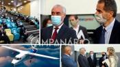 """""""Não se sabe ainda onde vai ser instalada a fábrica de construção da aeronave, mas aspiramos que fique instalada em Évora"""", diz Pres. da Câmara de Évora (C/SOM)"""