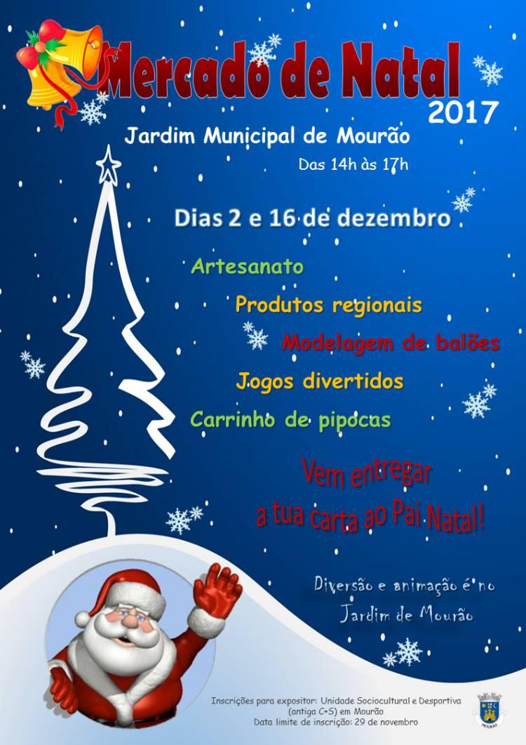 """Município de Mourão promove """"Mercado de Natal"""""""