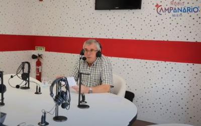 Campanário TV: Em vídeo a entrevista do candidato da CDU à Câmara de Mourão, Joaquim Frasco (c/vídeo)