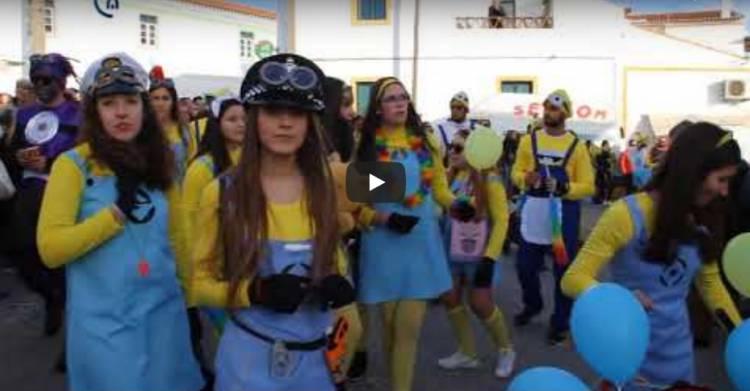 Campanário TV: O desfile de Carnaval em Bencatel 2018 (c/video)