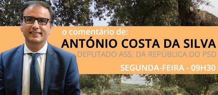 """Bloco Central entre PSD e PS """"não é tema de discussão"""", diz António Costa da Silva no seu comentário semanal  (c/som)"""