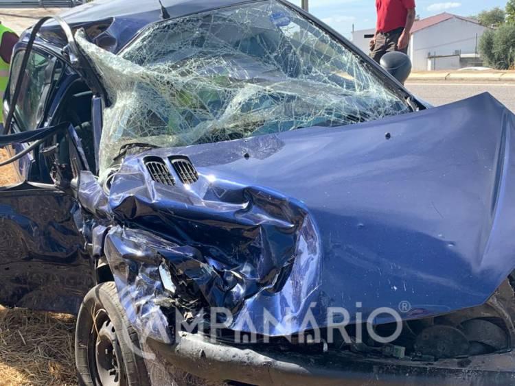 Faleceu o ferido grave do violento acidente de quarta feira em Borba