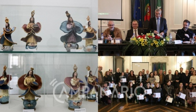 """""""Os bonecos de Estremoz representam a nossa história, são a alma de cada artesão"""", diz Francisco Ramos no II Aniversário da Inscrição da Produção de Figurado em Barro de Estremoz (c/som e fotos)"""