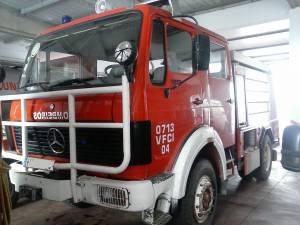 Veículo dos B.V. de Alandroal arde no incêndio de Mação, surpreendido por mudança de ventos (c/som)