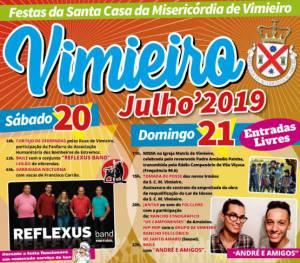 Vimieiro estará em festa este fim de semana com as tradicionais Festas da Santa Casa da Misericórdia