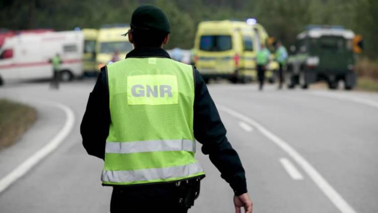 GNR registou esta quinta-feira quatro acidentes rodoviários no distrito de Évora (c/som)