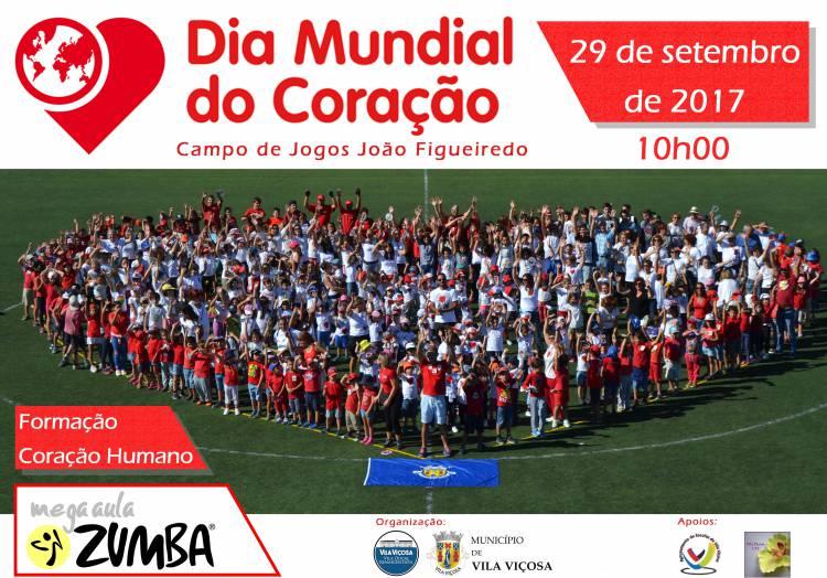 Dia Mundial do Coração celebra-se em Vila Viçosa com Mega Aula de Zumba