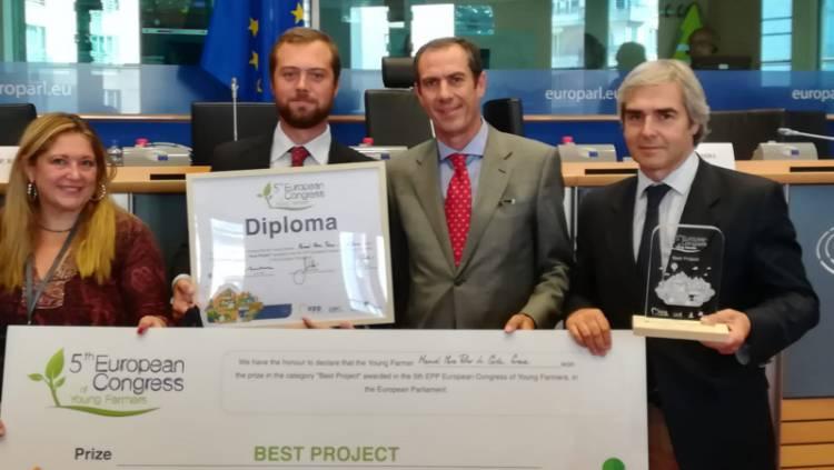 Alentejano vence prémio Melhor Jovem Agricultor da Europa