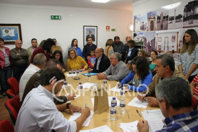 """Eleitos para a Freguesia de S. Bartolomeu em Borba pretendem atrair """"gente jovem"""", diz presidente na tomada de posse (c/fotos e som)"""