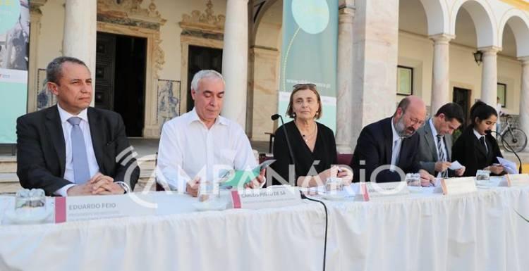 """Universidade de Évora é """"a primeira a concretizar o projeto U-Bike"""", congratula-se Ministro do Ambiente (c/som e fotos)"""