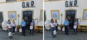 COVID-19: GNR de Évora recebe 200 máscaras da Imobiliária ERA Évora, para serem distribuídas pela população mais vulnerável