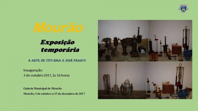Mourão recebe exposição de Vito Riga e José Frasco