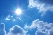 Semana arranca com ligeira subida das temperaturas máximas!