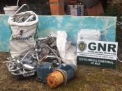 Vizinho dá o alerta, e GNR de Nisa efetua detenção de um indivíduo de 29 anos em flagrante delito.