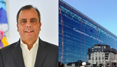 Pres. CM de Sines, Nuno Mascarenhas, vai participar em duas reuniões do Comité das Regiões em Bruxelas