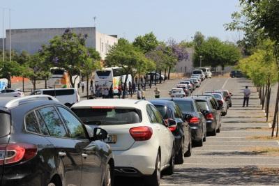 COVID-19: Negativos testes 'drive-thru' realizados a educadores e auxiliares de Ferreira do Alentejo