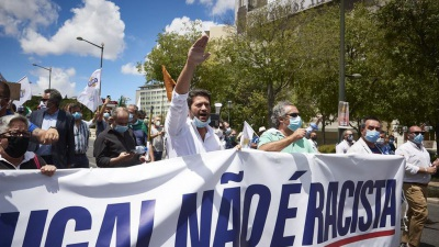 """André Ventura vai organizar em Évora a """"maior marcha alguma vez vista"""" contra a """"hipocrisia do racismo"""""""