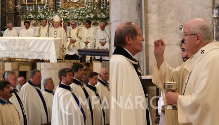 """Real Ordem da Imaculada Conceição """"é um monumento, não de pedra, mas cultural e histórico da libertação de Portugal"""", diz Arcebispo de Évora (c/som e fotos)"""