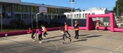 """Escola de Borba recebeu a atividade """"Joga à Bola Menina"""" uma iniciativa da Associação de Futebol de Évora"""