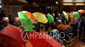 Música e animação marcaram festa de Natal do lar de idosos da S.C.M. de Vila Viçosa (c/fotos)