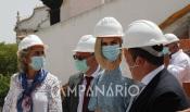 """""""A ideia de visitar estas obras é pressionar os Presidentes de Câmara para as terminarem rapidamente"""", diz a Ministra da Coesão Territorial em visita ao Concelho de Estremoz (c/som e fotos)"""