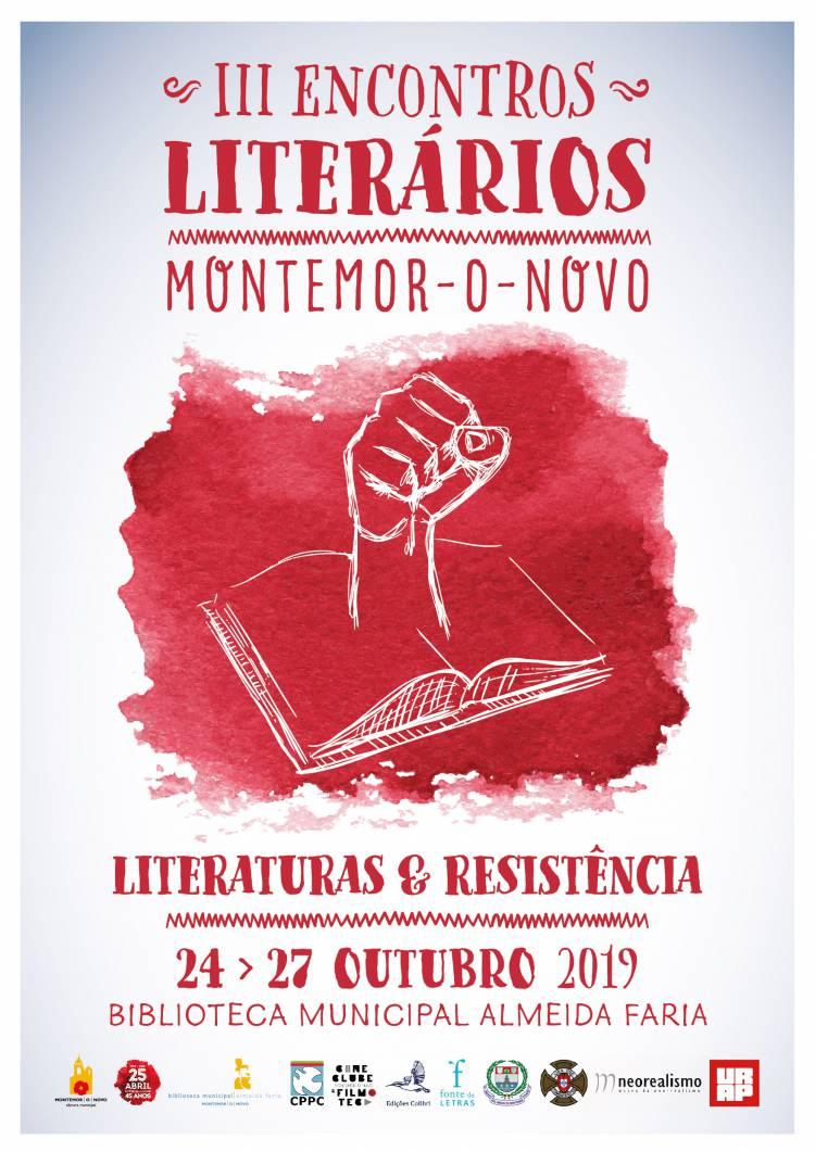 III Encontros Literários de Montemor-o-Novo