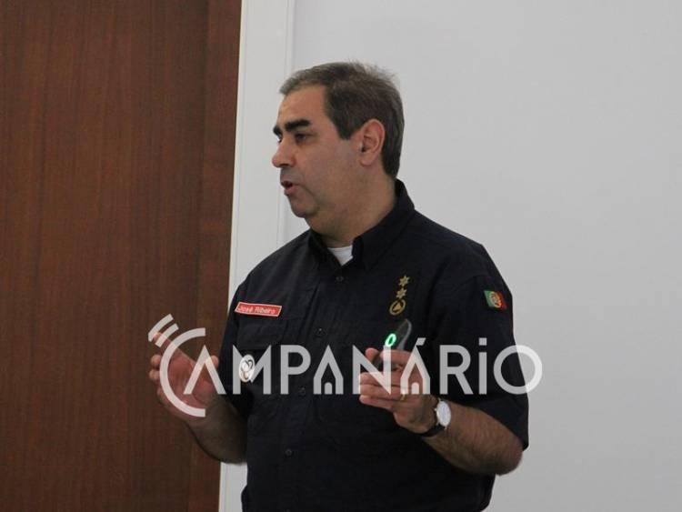 """Meios aéreos de ataque inicial a incêndios """"passam a ser guarnecidos pelos militares da GNR"""", diz Comandante do CDOS de Évora (c/som e fotos)"""