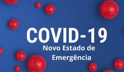 12º estado de emergência já está em vigor e vai até 16 de março. Veja aqui as medidas aplicadas