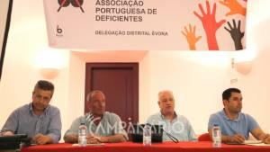 """""""Muitos falam da inclusão, mas a maior parte não a conhece e muito poucos a aplicam"""", diz Joaquim Cardoso (c/som e fotos)"""