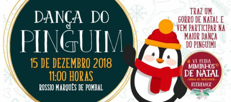 Estremoz terá a maior Dança do Pinguim do Mundo