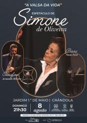 Simone de Oliveira atua domingo em Grândola