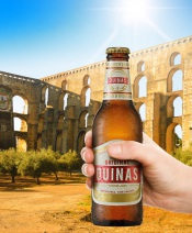 Cerveja Quinas já chegou ao Alentejo