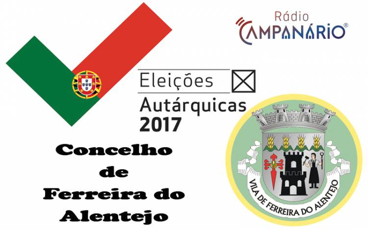 Autárquicas 2017: Os resultados eleitorais do concelho de Ferreira do Alentejo (c/dados)