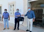 Município de Alandroal recebeu equipamento de desinfeção a ozono