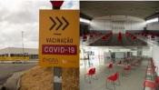 Évora: Centro de Vacinação Covid já funciona em novo local. Conheça-o aqui(c/fotos)