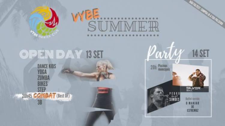 """Estremoz recebe """"Vybe Summer"""" nos dias 13 e 14 de setembro"""