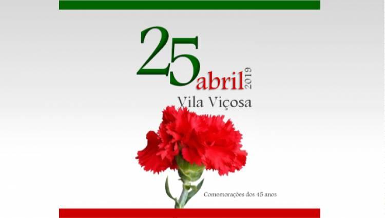 Conheça o programa de comemorações do 25 de Abril no concelho de Vila Viçosa