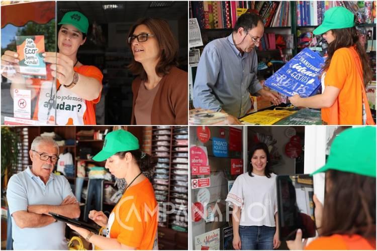 """""""A maioria dos estabelecimentos"""" no distrito não faz reciclagem, avança Gesamb em ação de sensibilização em Vila Viçosa (c/som e fotos)"""