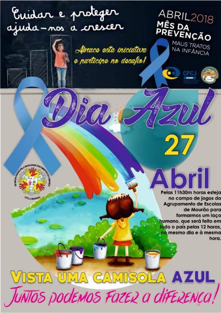 CPCJ de Mourão realiza Dia Azul a 27 de Abril