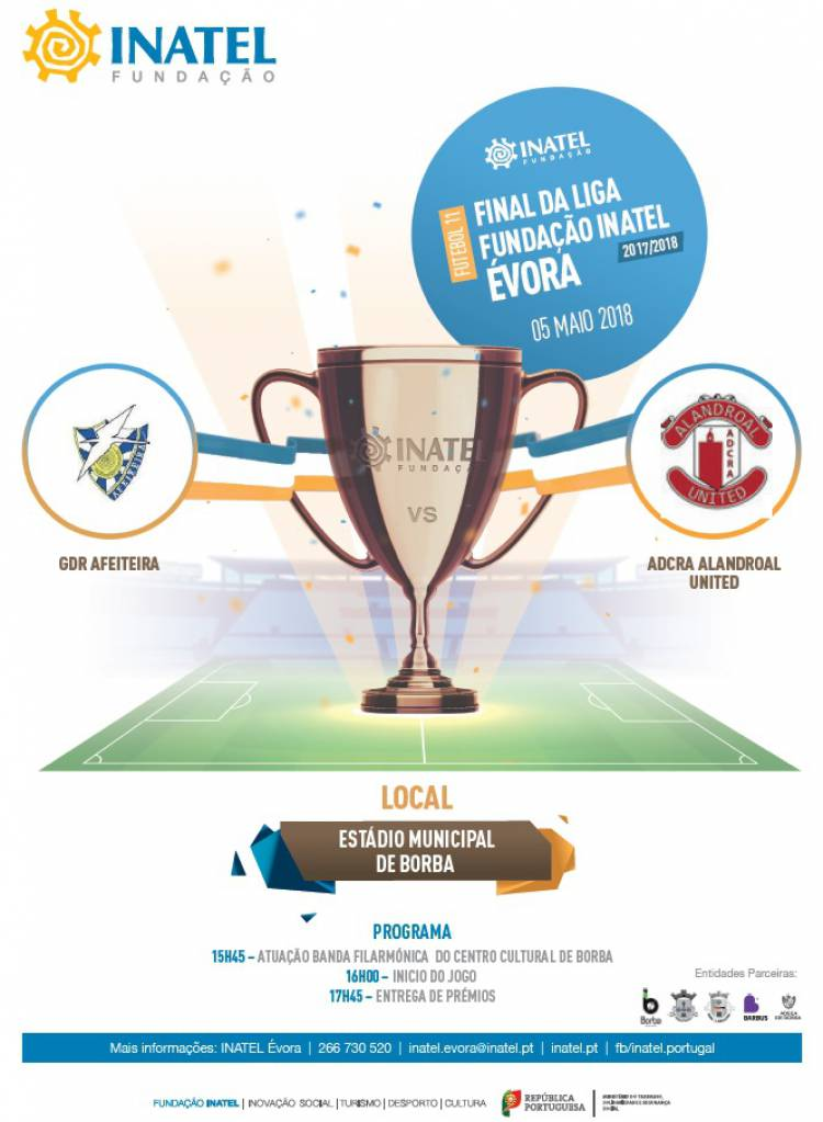 Afeiteira e Alandroal United este fim de semana disputam título da Liga Inatel em Borba