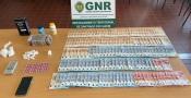 Santiago do Cacém: GNR deteve homem com mais de cinco mil doses de droga